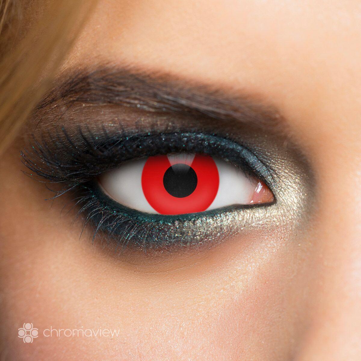 Chromaview Red Vampire Kontaktlinse rot