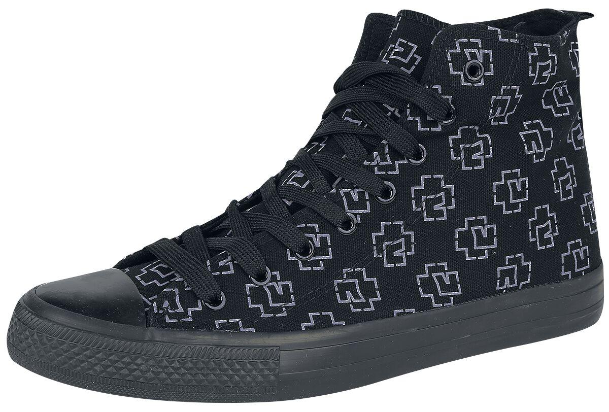 Image of   Rammstein Logo Sneakers sort
