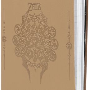 The Legend Of Zelda Sage Symbols Cahier marron clair