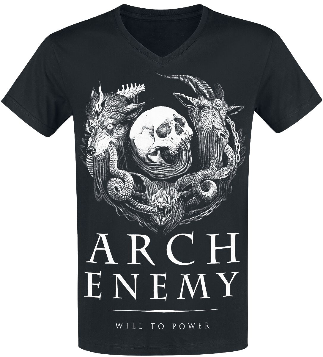 Image of   Arch Enemy Will To Power T-Shirt sort