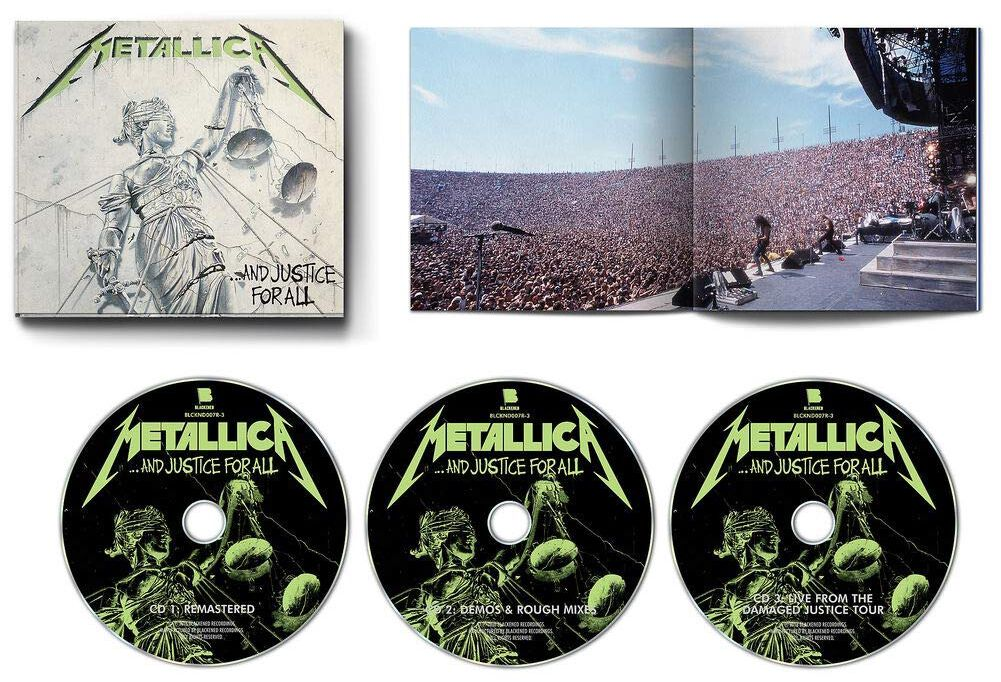Image of   Metallica ... and justice for all 3-CD standard