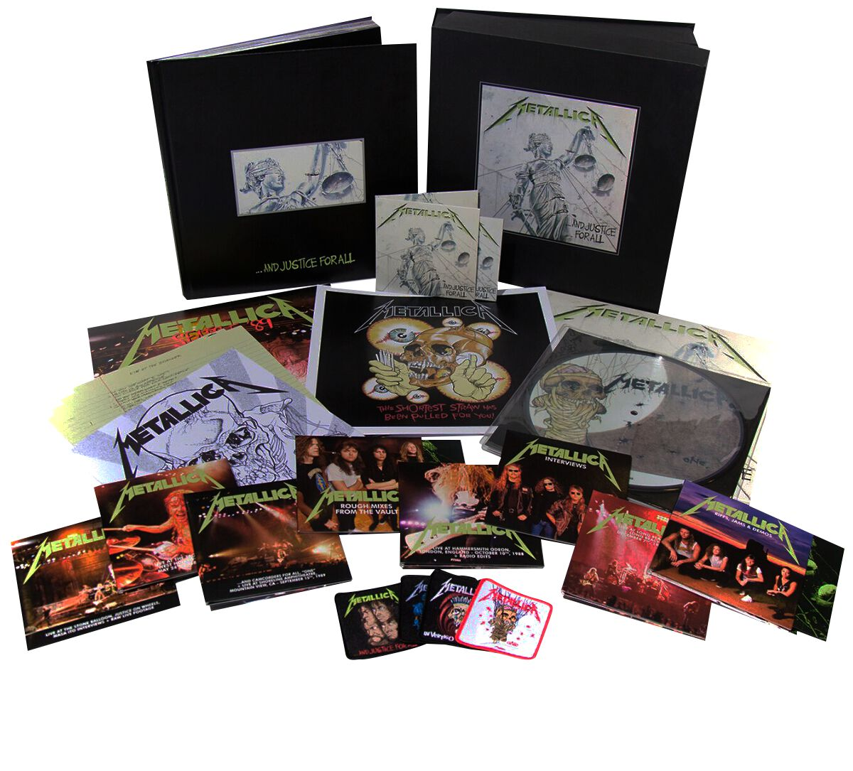 Image of   Metallica ... and justice for all 11-CD & 6-LP & 4-DVD standard