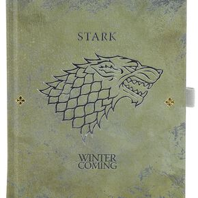 Game Of Thrones Stark Worn - Carnet De Notes Cahier multicolore
