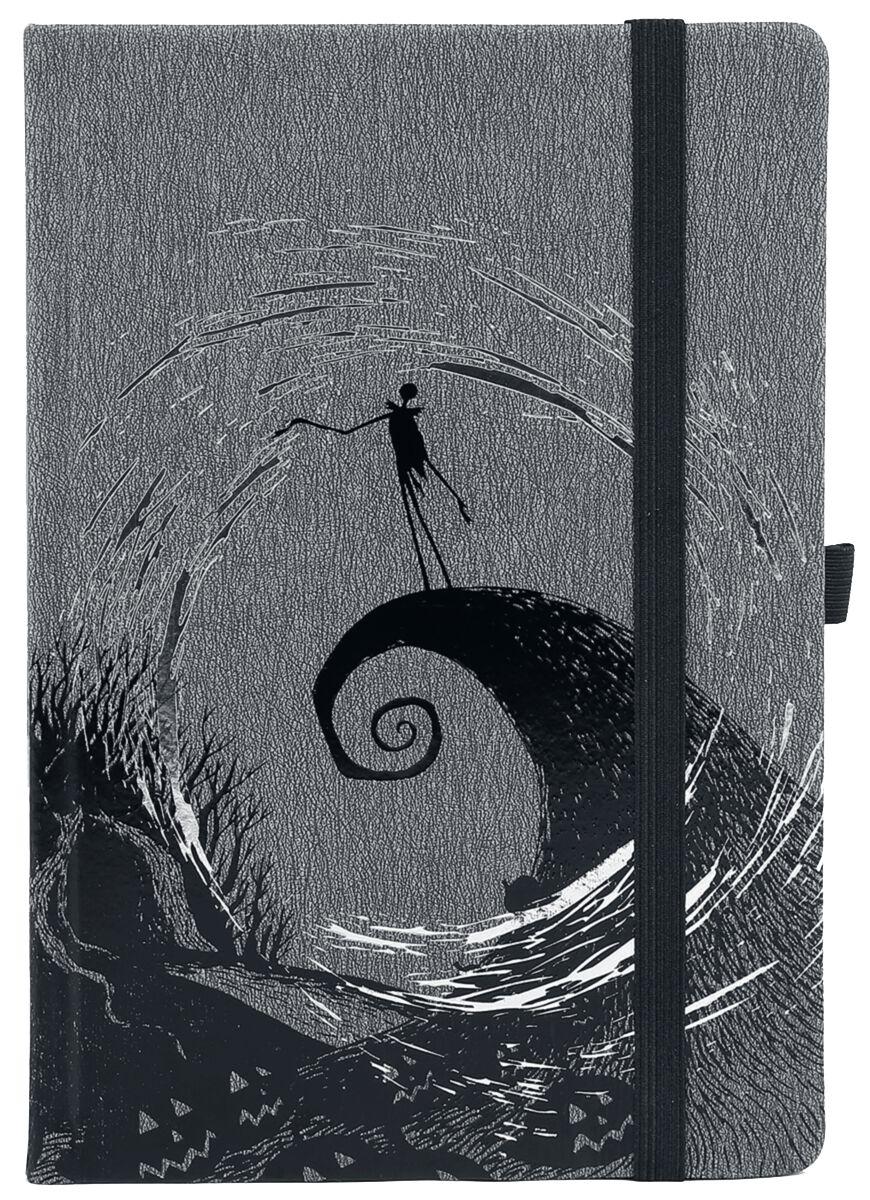 Image of   The Nightmare Before Christmas Moonlight Madness - Notesbog Notesbog multifarvet