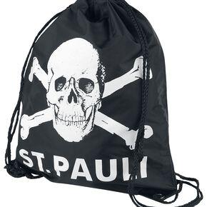 St. Pauli Totenkopf Sac de Gym noir