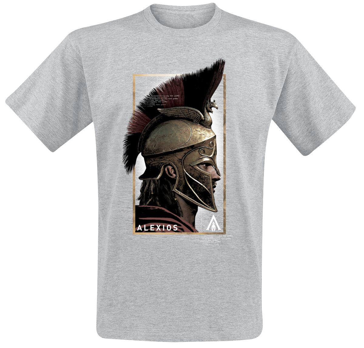 Image of   Assassin's Creed Odyssey - Alexios Side T-Shirt grålig