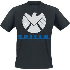 Marvel : Les Agents Du S.H.I.E.L.D. Logo T-shirt noir