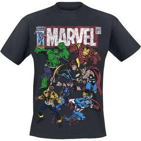 Marvel Team Up T-shirt noir