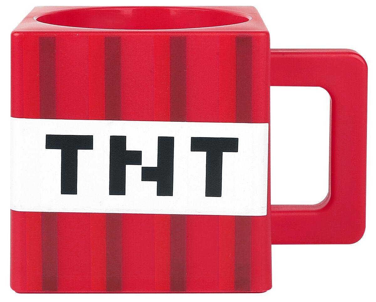 TNT Tasse rot/weiß