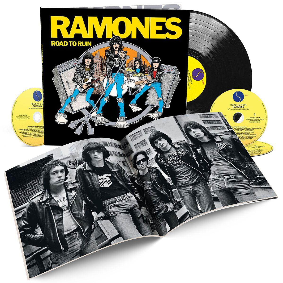 Ramones Road To Ruin 3-CD & LP Standard