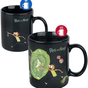 Rick and Morty (Portals) Heat Changing Mug