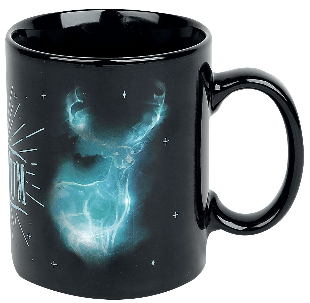 Image of   Harry Potter Expecto Patronum - lyser i mørket Krus multifarvet
