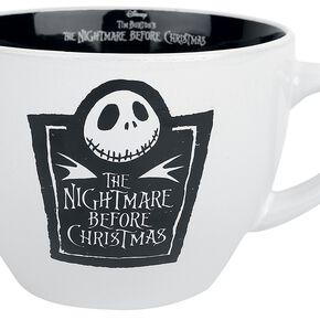 L'Étrange Noël De Monsieur Jack Cappuccino Tasse Mug noir/blanc