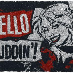 Harley Quinn Hello Puddin'! Paillasson multicolore