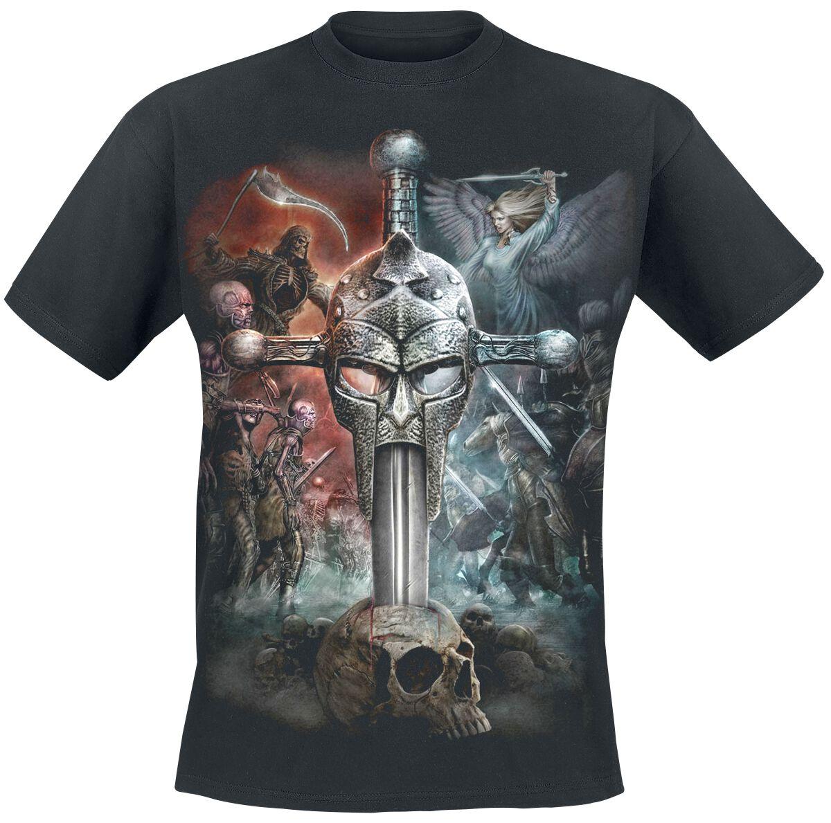 Image of   Spiral Apocalypse T-Shirt sort