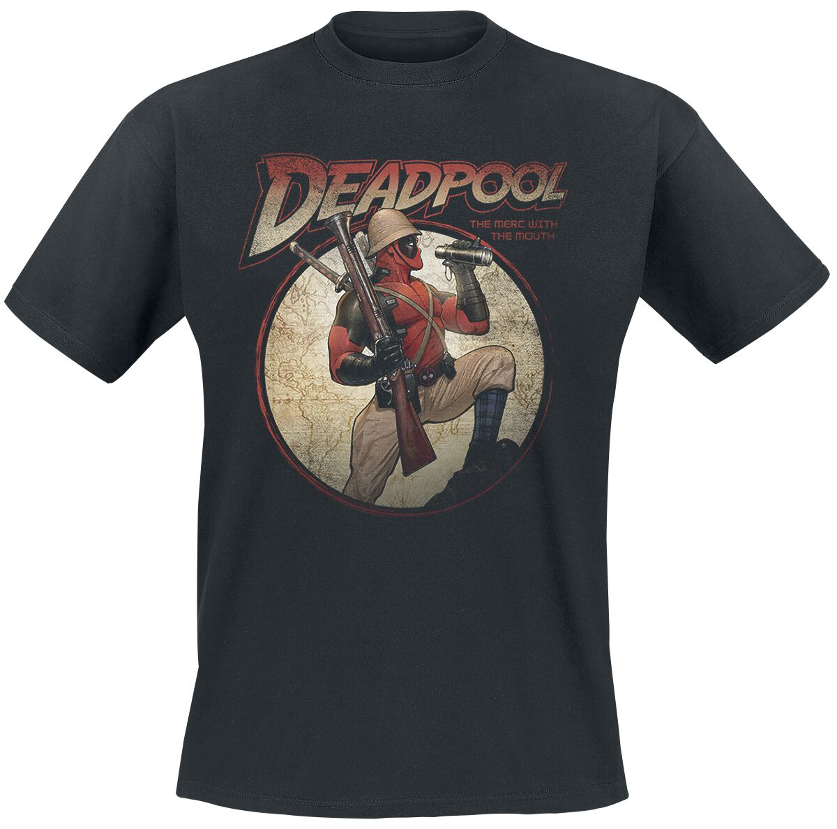 Image of   Deadpool Time For Adventures T-Shirt sort
