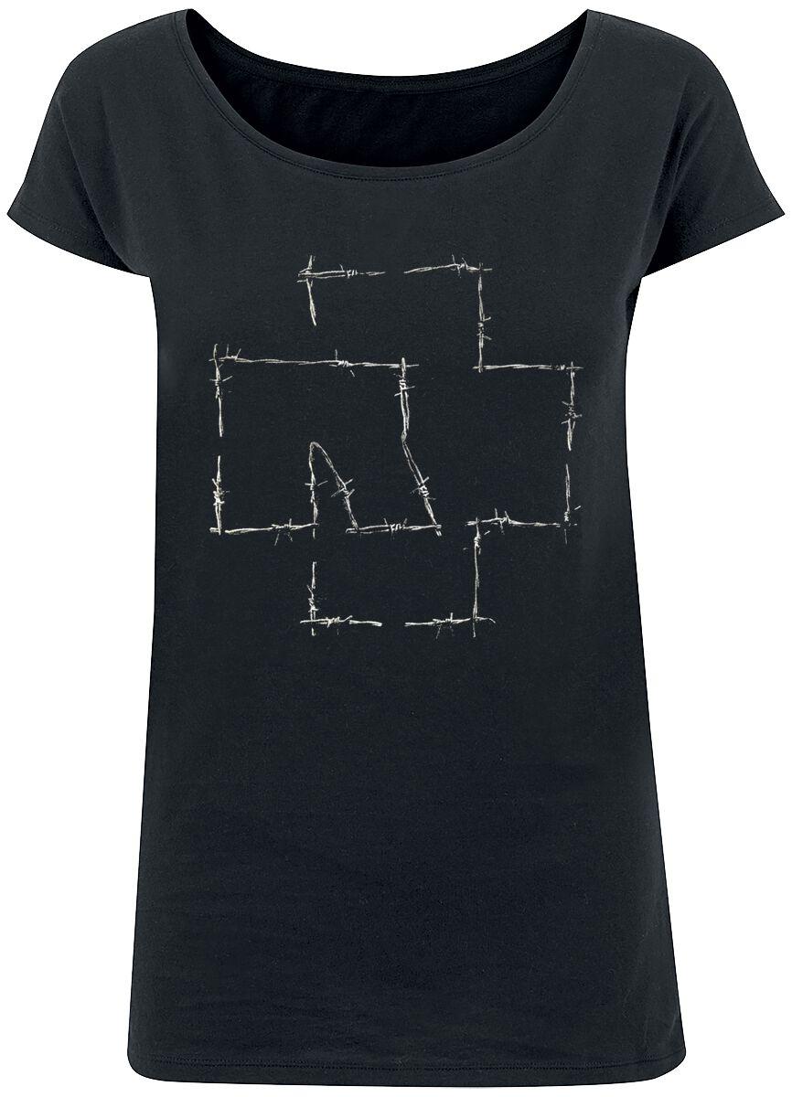 Image of   Rammstein Stacheldraht Girlie trøje sort