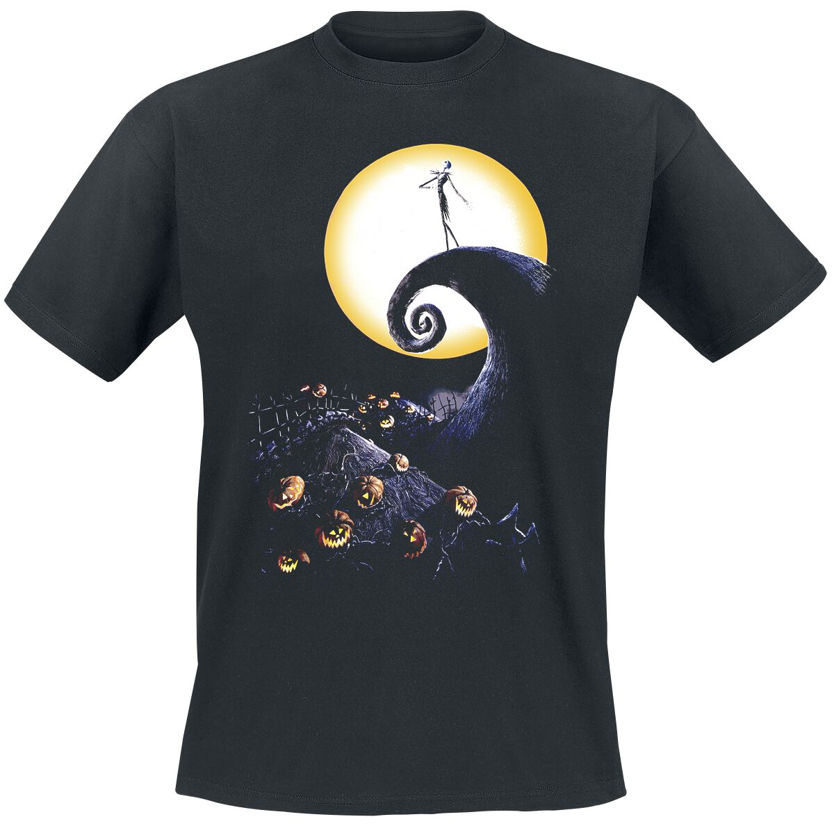 Image of   The Nightmare Before Christmas Cemetery T-Shirt sort