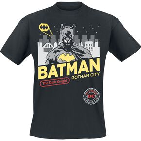 Batman Gotham City T-shirt noir