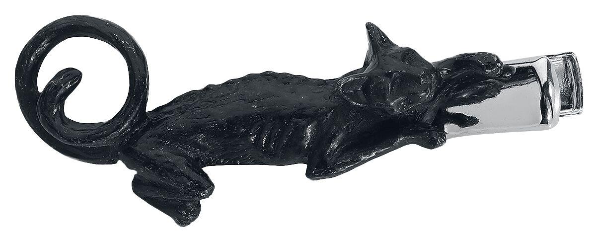 Image of   Alchemy Gothic Cat Sith Hårspænde sort
