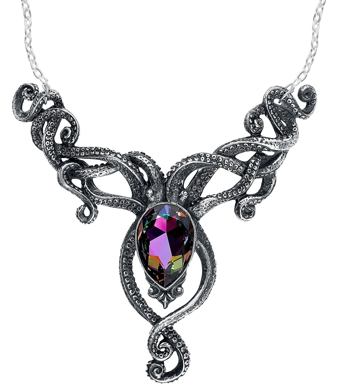 Image of   Alchemy Gothic Kraken Halskæde sølvfarvet