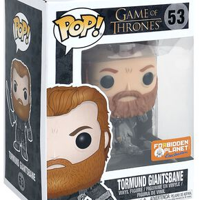 Game Of Thrones Tormund Giantsbane (Snow) - Vinyl Figure 53 Figurine de collection Standard
