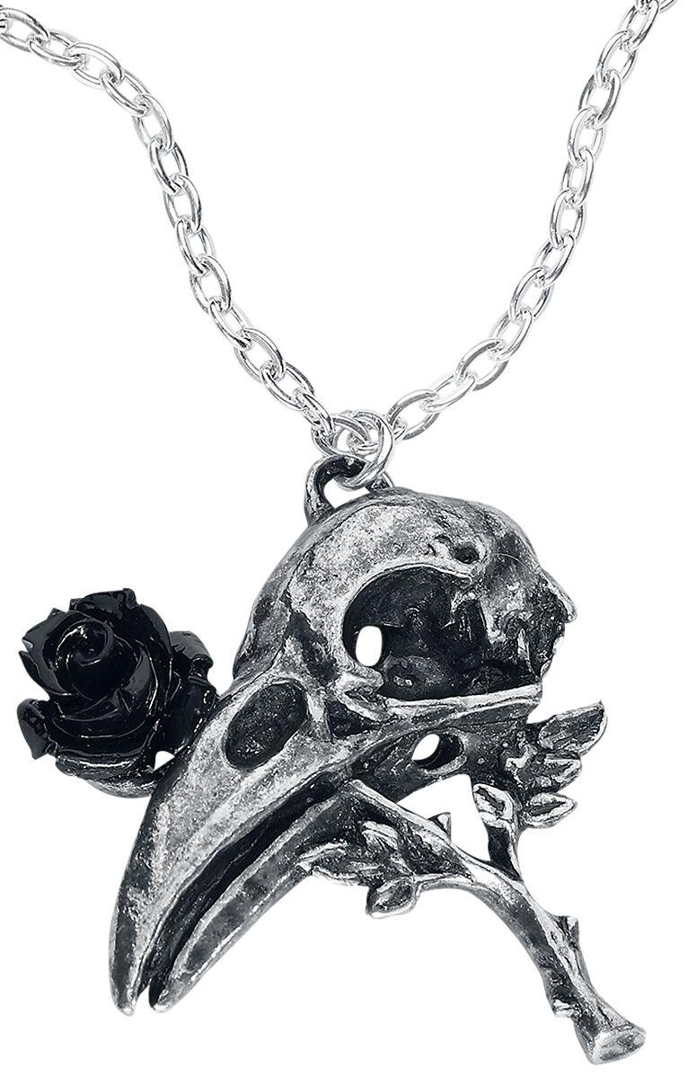 Image of   Alchemy Gothic Quietus Rose Halskæde sølvfarvet