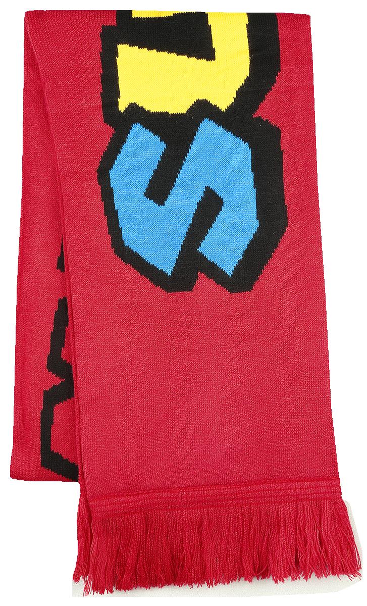 Nintendo Super Mario Knitted Scarf Halstørklæde multifarvet