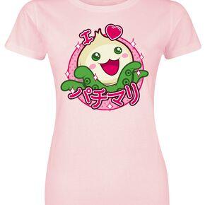 Overwatch Pachimari T-shirt Femme rose clair