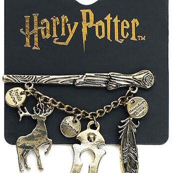 Harry Potter Wand Pin's couleur or