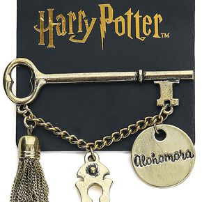 Harry Potter Alohomora Pin's couleur or