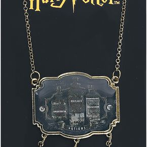 Harry Potter Potions Collier couleur or