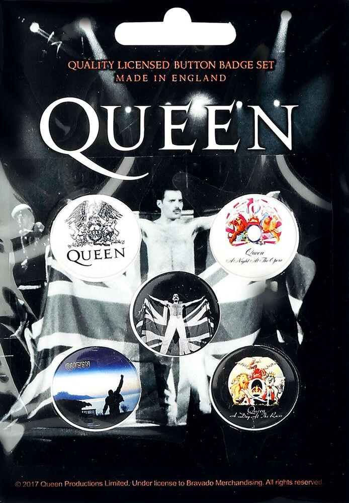 Image of   Queen Mix Badgepakke multifarvet