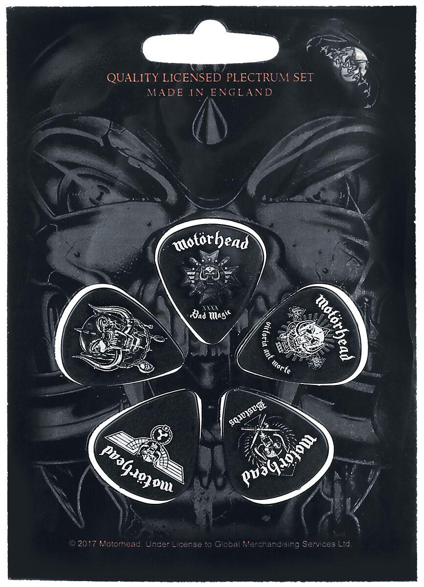 Image of   Motörhead Bad Magic Plekter multifarvet