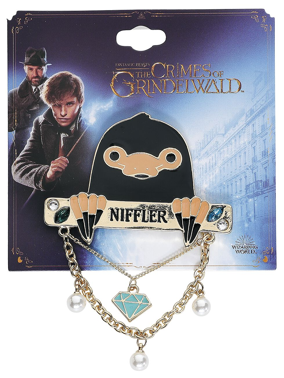 Image of   Fantastic Beasts Charm Nål multifarvet