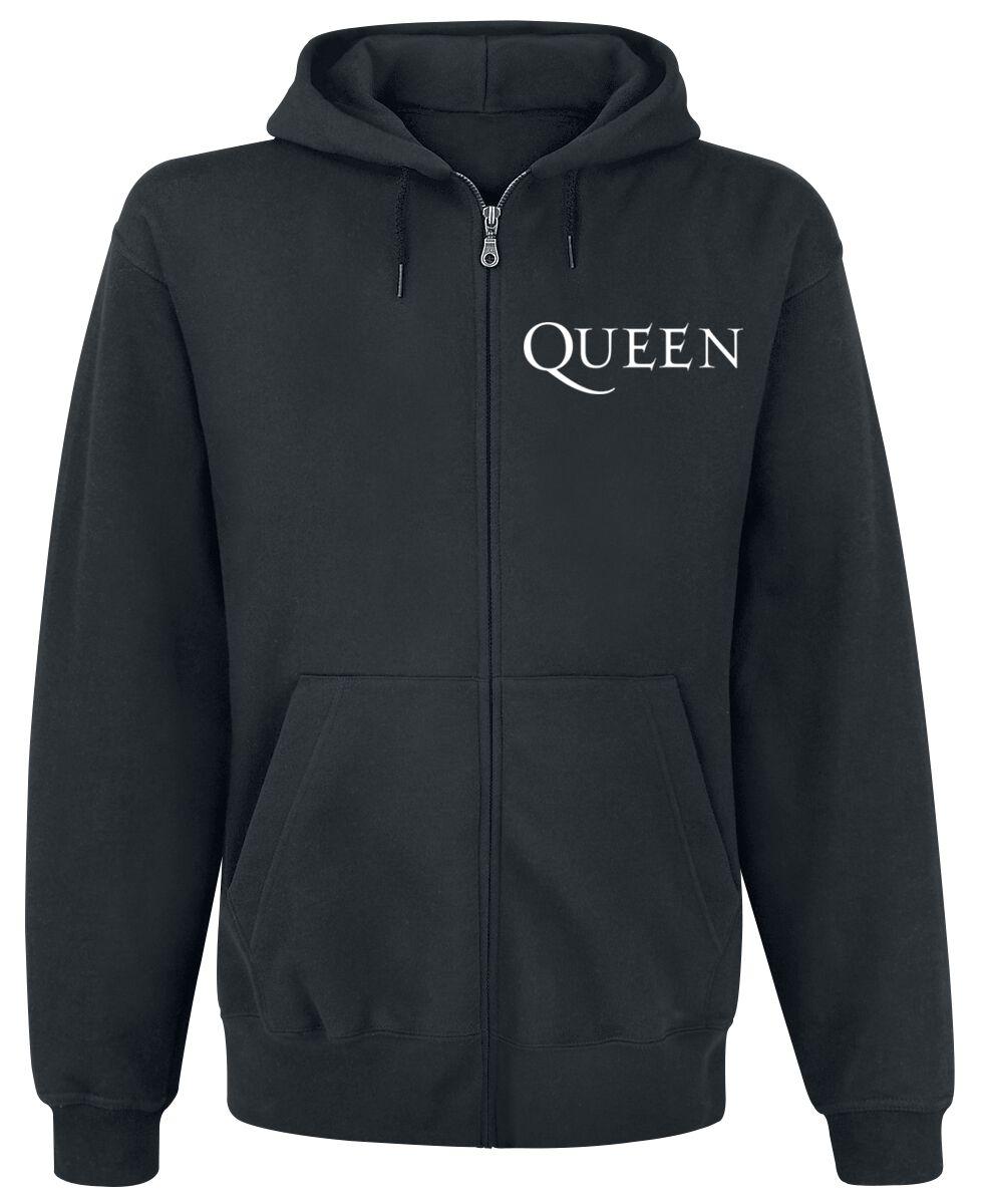 Image of   Queen Crest Vintage Hættejakke sort
