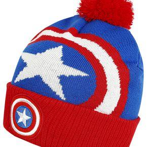 Captain America Logo Bonnet bleu/rouge/blanc