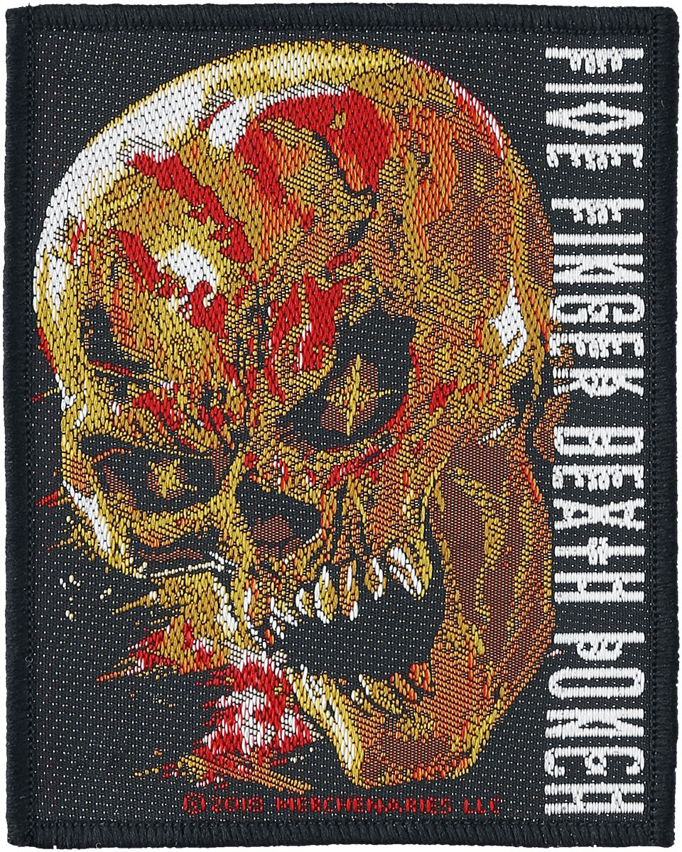 Image of   Five Finger Death Punch And Justice For None Patch multifarvet