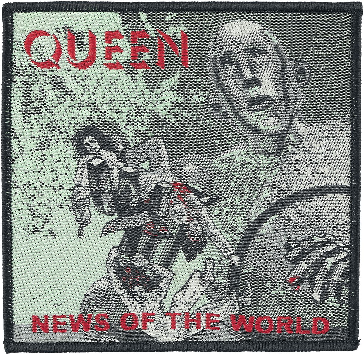 Image of   Queen News of the world Patch multifarvet