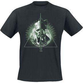 Les Animaux Fantastiques Grindelwalds Verbrechen - Heiligtümer des Todes T-shirt noir