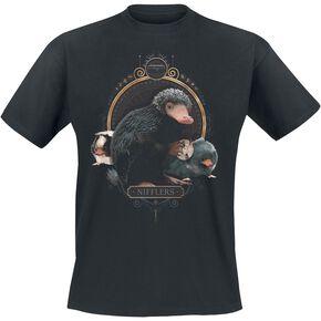 Les Animaux Fantastiques Grindelwalds Verbrechen - Nifflers T-shirt noir