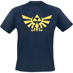 The Legend Of Zelda Hyrule T-shirt bleu