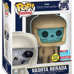 Doctor Who NYCC 2018 - Vashta Nerada (GITD) Vinyl Figure 709 Figurine de collection Standard