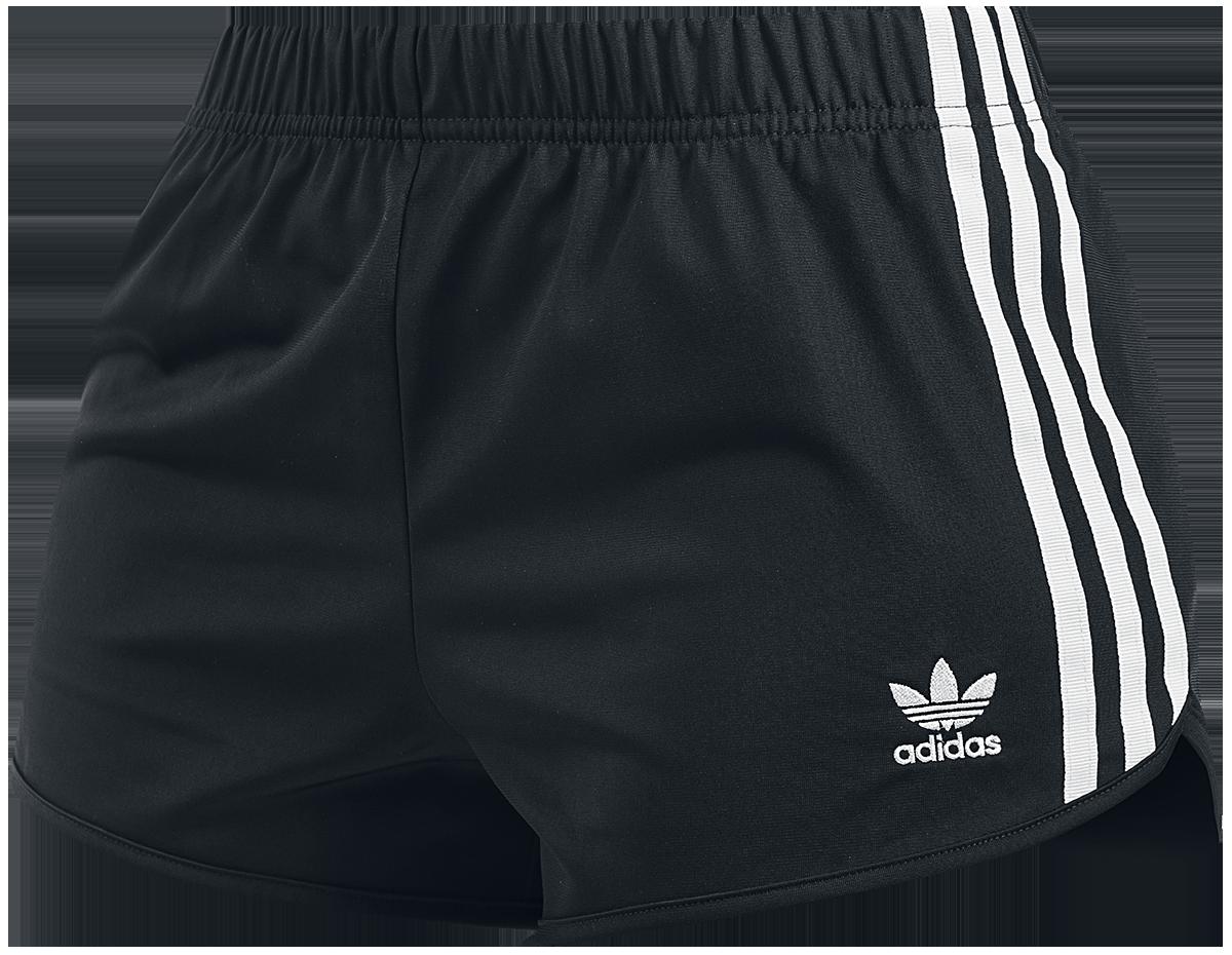 Image of Adidas 3 STR Short Girl-Shorts schwarz/weiß