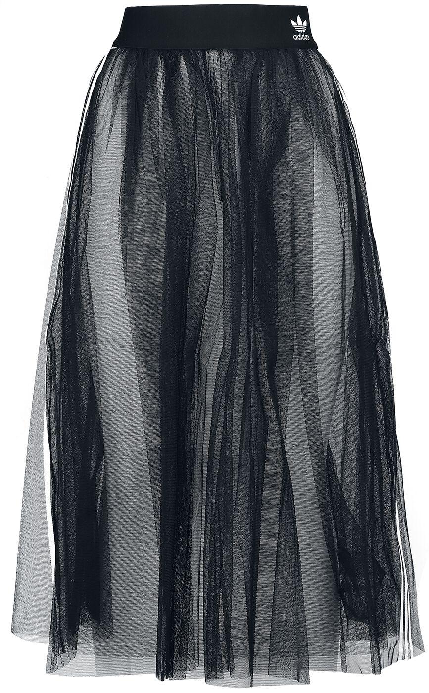 Roecke für Frauen - Adidas Skirt Tulle Rock schwarz  - Onlineshop EMP
