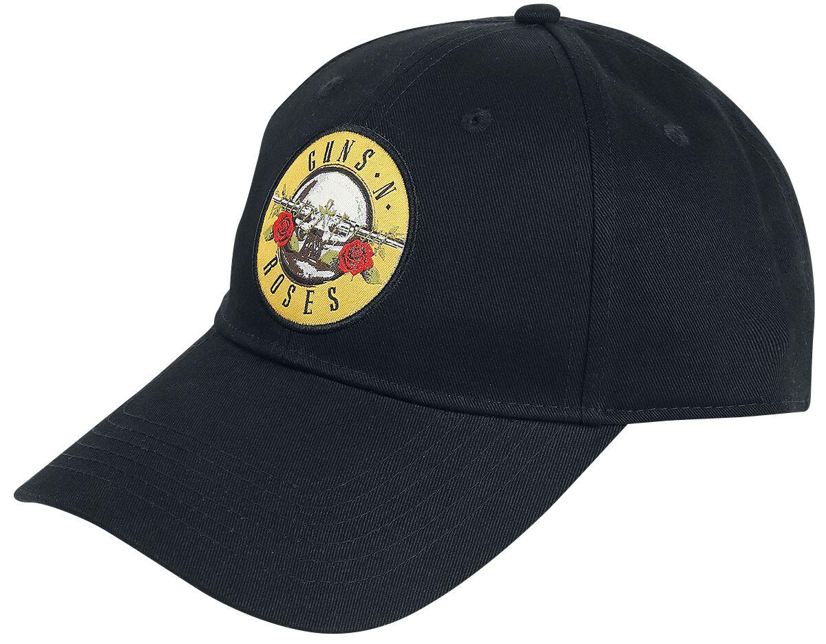 148c6c13d41 Guns Napos Roses Bullet Logo Baseball Jersey sort