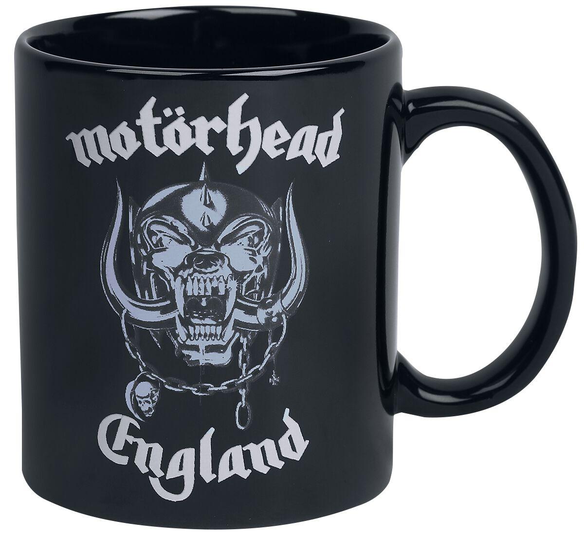 Image of   Motörhead England Krus sort