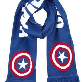 Captain America Logo Écharpe bleu/rouge/blanc