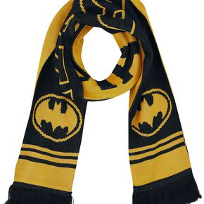 Batman Logo Écharpe noir/jaune