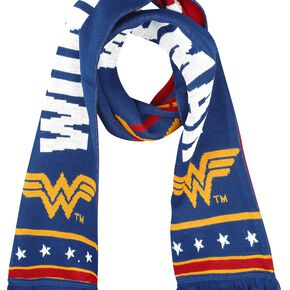 Wonder Woman Logo Écharpe multicolore